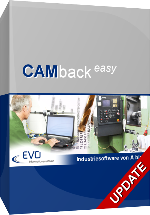 CAMback easy - Update 3.0 (DNC-Software)